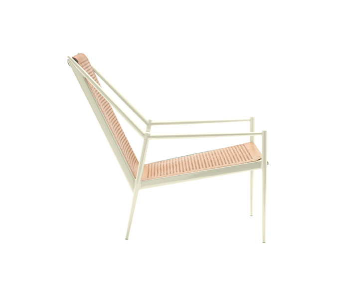 This beautiful armchair is available on dopainteriors.com in different colors. Personalize your home with the Italian Cappellini products. Find out more on our website.