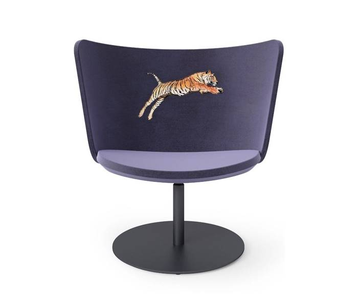 EMBROIDERY TIGER Poltroncina - cappellini