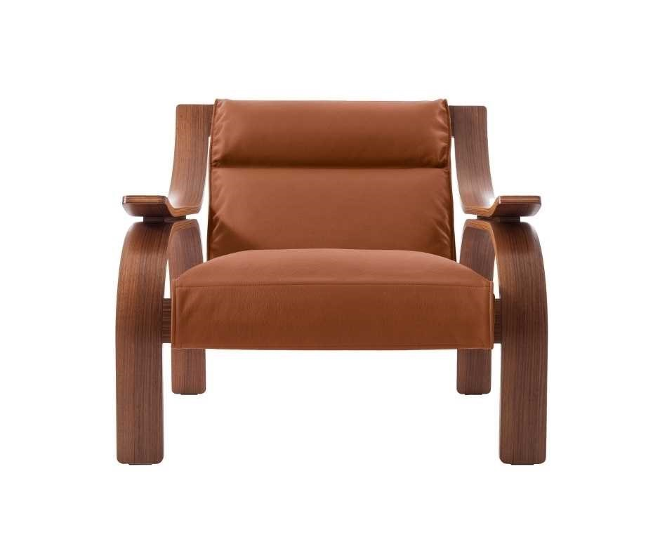 Choose the color of the Woodline armchair and calculate the best online quote. Dopa Interiors.