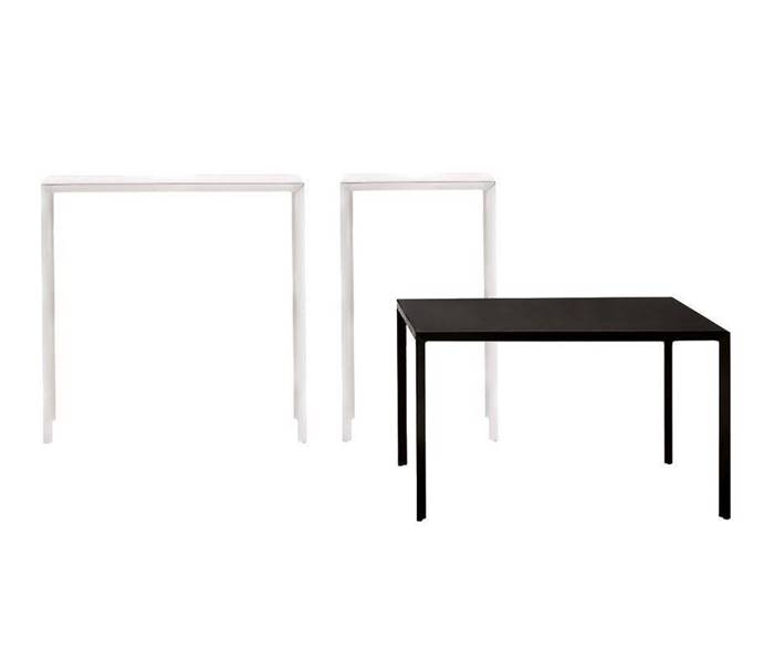 Cappellini Ministeel Side Table Coffee Table Low Table カッペリーニ ミニスティール サイドテーブル ローテーブル コーヒーテーブル