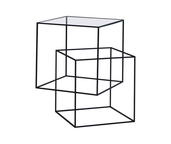 THIN BLACK TABLE Tavolino - Cappellini