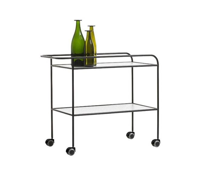 STEEL PIPE DRINK TROLLEY Carrello - Cappellini