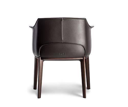 ポルトローナ・フラウ アーチボルドダイニングチェア アームチェア Poltrona frau Archibald dinning chair Armchair