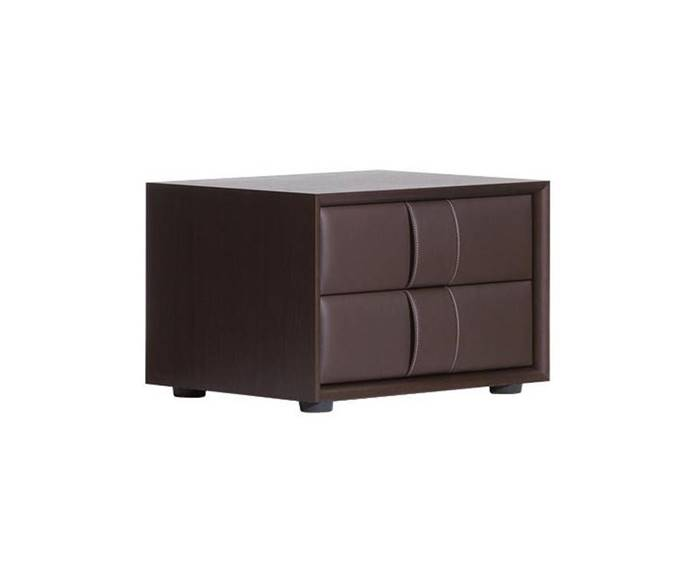 POLTRONA FRAU OBI 2 DRAWER NIGHT TABLE ドロワー