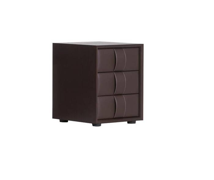 POLTRONA FRAU OBI 3 DRAWER NIGHT TABLE ドロワー