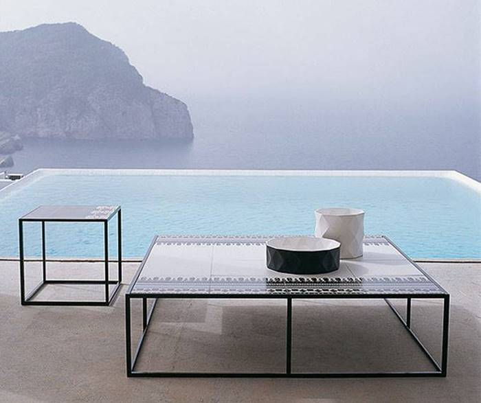 B&Bイタリア カナスタ テーブル アウトドア テーブル B&B Italia Canasta Table Outdoor Table