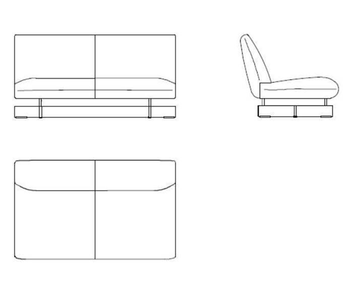 カッシーナ ビーム ソファ システム システムソファ Cassina Beam Sofa System System Sofa
