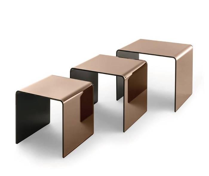 RIALTO TRIS Fiam Low Table Coffee Table フィアム リアルト トリス ローテーブル コーヒーテーブル